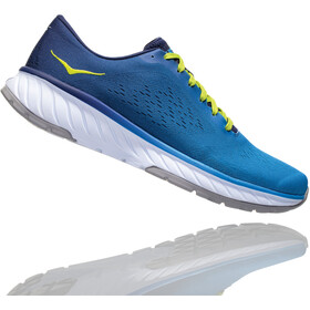 Hoka One One Cavu 2 Running Shoes Men French Blue/Lime Green